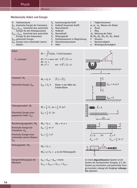 TÜF - Tabellen, Übersichten, Formeln - TÜF Gesamtband SI/SII ...