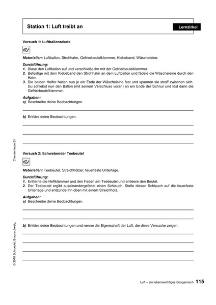 Chemie heute SI - Kontextorientierte Lehrermaterialien - Teil 1 ...