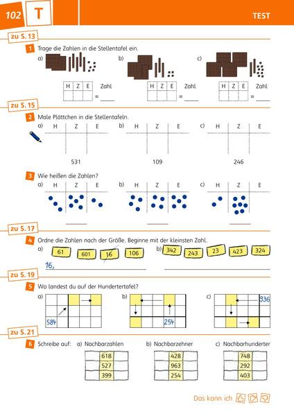 Groß Mathe Praxis Einer Tabelle 4Klasse Zeitgenössisch ...