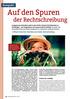 Vorschaubild: Beitrag Auf den Spuren der Rechtschreibung -