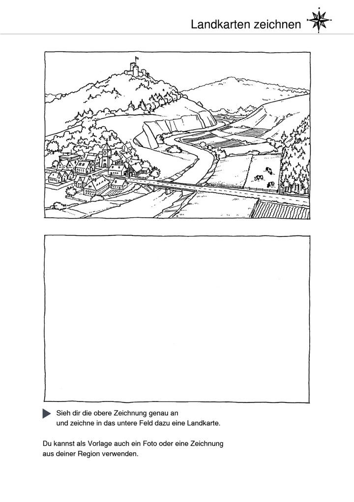 von der wirklichkeit zur karte grundschule arbeitsblätter Landkarten zeichnen   Von der Wirklichkeit zur Karte: Verlage der  von der wirklichkeit zur karte grundschule arbeitsblätter