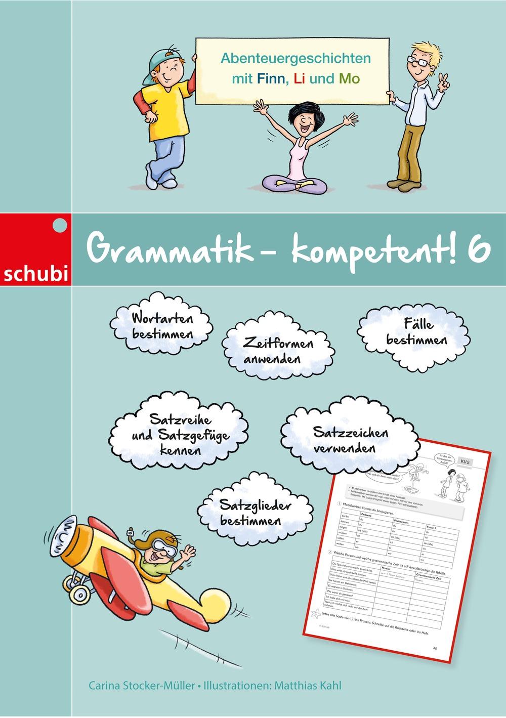 Grammatik Kompetent 6 Schubi