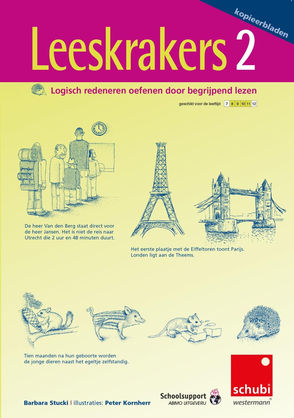 Leeskrakers 2 (vanaf groep 6 / 4de leerjaar) - Schubi