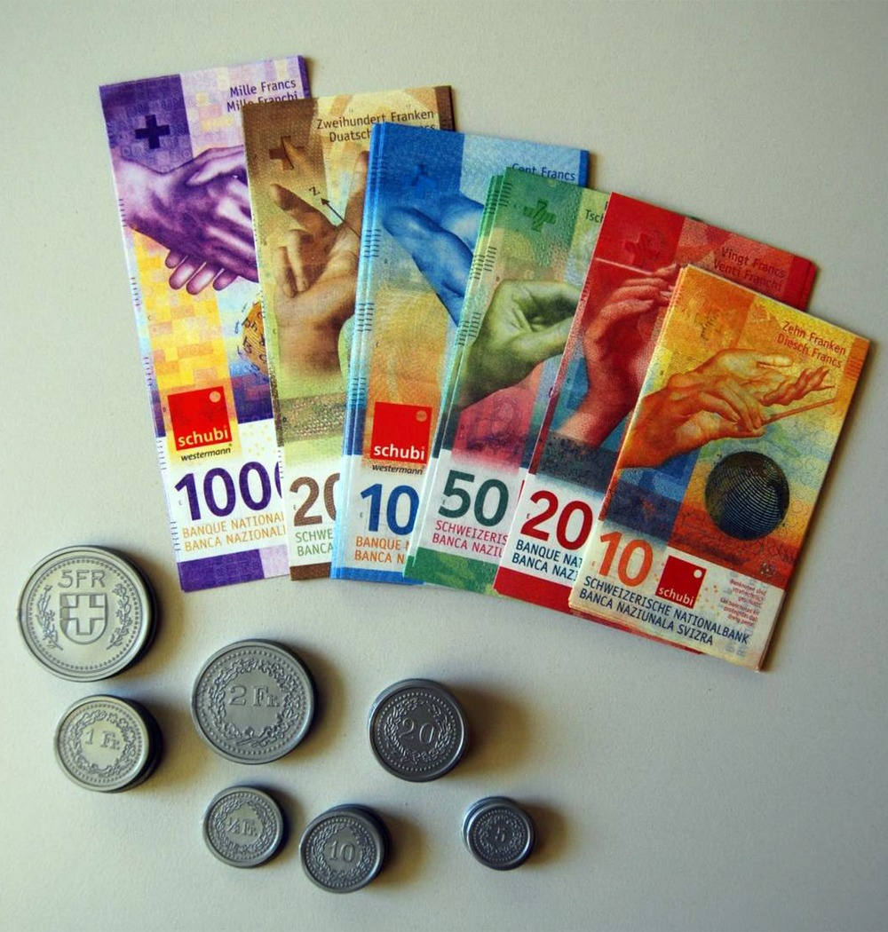 Spielgeld Schweiz