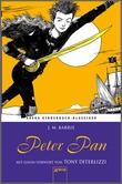 Cover: Peter Pan - Arena Kinderbuch-Klassiker. Mit einem Vorwort von Tony DiTerlizzi