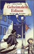 Cover: Die Jäger des Lichts - Geheimakte Edison. Ein Rätselkrimi
