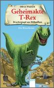 Cover: Drachenjagd am Höllenfluss - Geheimakte T-Rex. Ein Rätselkrimi
