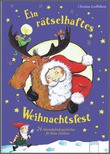 Cover: Ein rätselhaftes Weihnachtsfest - 24 Adventskalendergeschichten für kleine Detektive