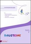 Cover: BAUSTEINE - Zusatzmaterialien Ausgabe 2014 - Lernstandserhebungen 2
