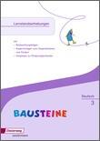 Cover: BAUSTEINE - Zusatzmaterialien Ausgabe 2014 - Lernstandserhebungen 3