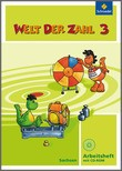 Cover: Welt der Zahl - Ausgabe 2009 Sachsen - Arbeitsheft 3 mit CD-ROM