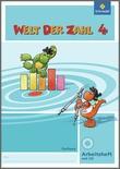 Cover: Welt der Zahl - Ausgabe 2009 Sachsen - Arbeitsheft 4 mit CD-ROM