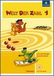 Cover: Welt der Zahl - Ausgabe 2009 Sachsen - Lernerfolgskontrollen 1 mit CD-ROM