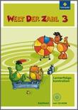 Cover: Welt der Zahl - Ausgabe 2009 Sachsen - Lernerfolgskontrollen 3 mit CD-ROM