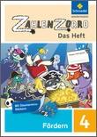 Cover: Zahlenzorro - Das Heft - Förderheft 4