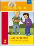Cover: Pusteblume. Das Sprachbuch - Ausgabe 2009 - Förderheft 2 VA