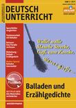 Cover: Balladen und Erzählgedichte - Ausgabe Juni Heft 3 / 2017 - 66170300