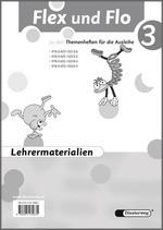 Cover: Flex und Flo - Ausgabe 2007 - Lehrermaterialien 3 mit CD-ROM