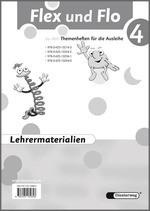 Cover: Flex und Flo - Ausgabe 2007 - Lehrermaterialien 4 mit CD-ROM