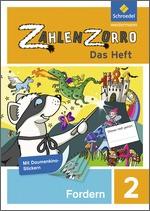 Cover: Zahlenzorro - Das Heft - Forderheft 2