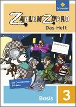 Cover: Zahlenzorro - Das Heft - Basisheft 3