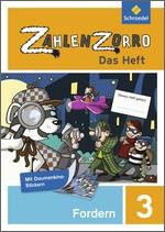 Cover: Zahlenzorro - Das Heft - Forderheft 3