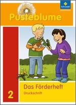 Cover: Pusteblume. Das Sprachbuch - Ausgabe 2009 - Förderheft 2 DS