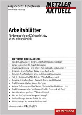 Metzler aktuell - Arbeitsblätter - Ausgabe September 5 / 2011 ...