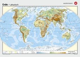 Wandkarten Geographie Die Erde Verlage Der Westermann Gruppe