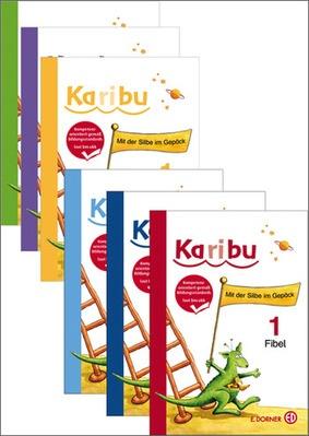 Karibu 1 - Set (Fibel, Arbeitsheft, Buchstabenheft, Schreiblehrgang ...