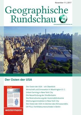 Geographische Rundschau - Der Osten der USA - Ausgabe November Heft ...