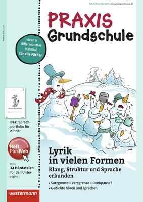 Weihnachtsgedichte Für Kinder Grundschule.Praxis Grundschule Lyrik In Vielen Formen Klang Struktur Und
