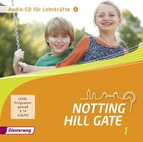 notting hill gate ausgabe 2014 audio cd 1 f r lehrkr fte diesterweg verlag. Black Bedroom Furniture Sets. Home Design Ideas