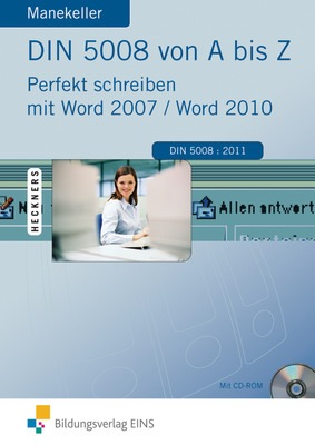 Din 5008 Von A Bis Z Perfekt Schreiben Mit Word 20072010