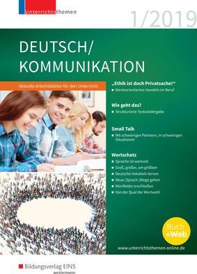 unterrichtsthemen deutsch kommunikation arbeitsbl tter f r ihren unterricht ausgabe 1 2019. Black Bedroom Furniture Sets. Home Design Ideas