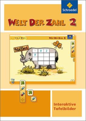 Welt Der Zahl Interaktive Tafelbilder 2 Einzelplatzlizenz Logo