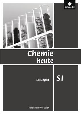 chemie heute si ausgabe 2009 f r nordrhein westfalen l sungen si schroedel verlag. Black Bedroom Furniture Sets. Home Design Ideas