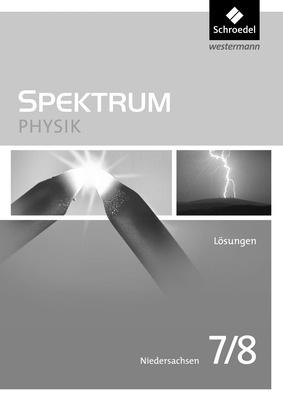 spektrum physik aktuelle ausgabe f r niedersachsen l sungen 7 8 schroedel verlag. Black Bedroom Furniture Sets. Home Design Ideas