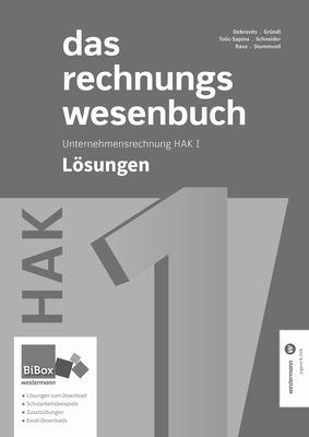 Das Rechnungswesenbuch Hak I Lösungen Westermann Gruppe In österreich