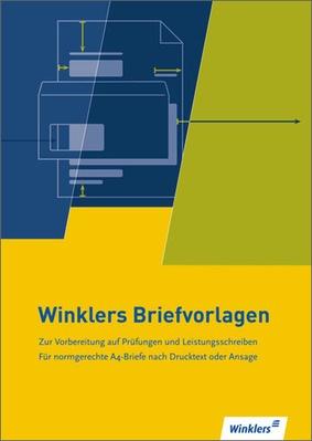 Winklers Briefvorlagen Neueste Norm Din 5008 Winklers Verlag