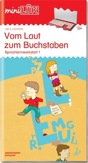 miniLÜK - Vom Laut zum Buchstaben - Sprachlernwerkstatt 1 ...