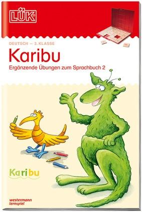 Lük Karibu 3 Klasse Ergänzende übungen Zum Sprachbuch 2 Lük
