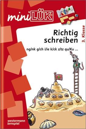Minilük Richtig Schreiben 3 Klasse Ngnk Gch Iie Kck Z