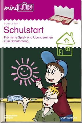miniLÜK - Schulstart Doppelband - Fröhliche Spiel- und Übungsreihen ...