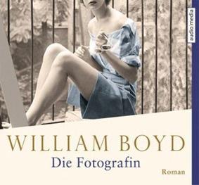 Die Fotografin von William Boyd, Cover mit freundlicher Genehmigung von Audio Media Verlag