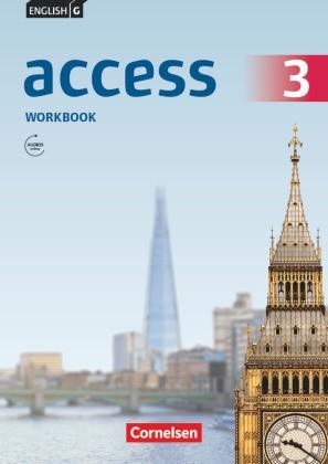 English G Access - Allgemeine Ausgabe - 7. Schuljahr, Workbook mit Audios online