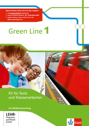 Green Line, Bundesausgabe ab 2014 - 5. Klasse, Fit für Tests und Klassenarbeiten mit CD-ROM und Lösungen