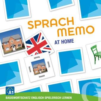 Sprachmemo Englisch: At Home (Spiel) - Basiswortschatz Englisch spielerisch lernen / Sprachspiel. Niveau A1
