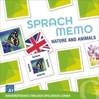 Sprachmemo Englisch: Nature and Animals (Spiel) - Basiswortschatz Englisch spielerisch lernen / Sprachspiel. Niveau A1