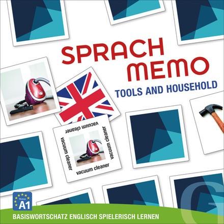Sprachmemo Englisch: Tools and Household (Spiel) - Basiswortschatz Englisch spielerisch lernen / Sprachspiel. Niveau A1